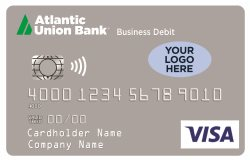 Business Design Mine Debit Card